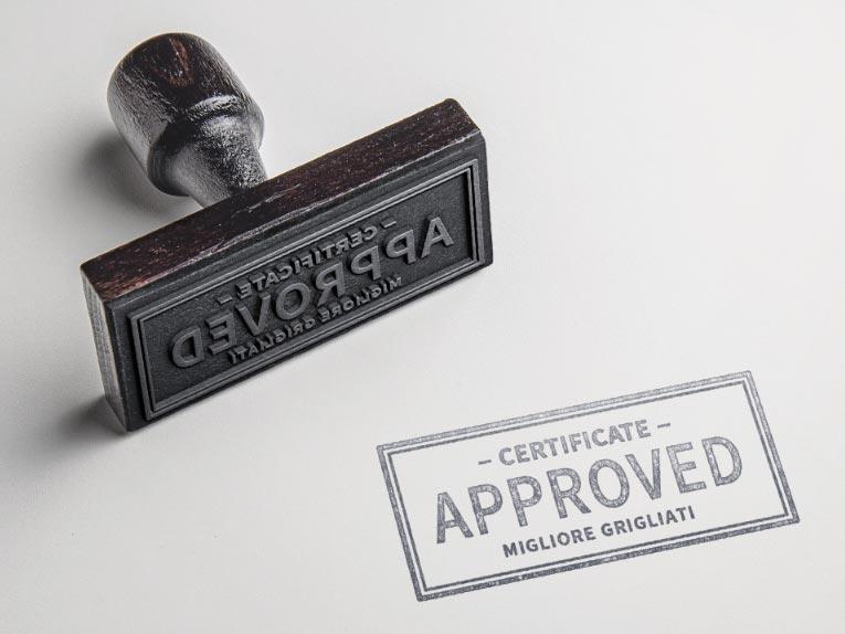 Certificazioni<p>Zincatura / varie…</p>